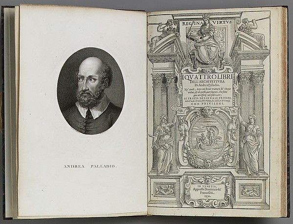 I quattro libri dell&#39;architettura di Andrea Palladio . . .